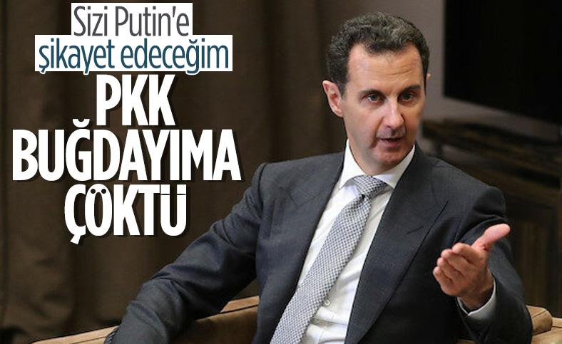 Esad ile PKK arasında buğday savaşı başladı