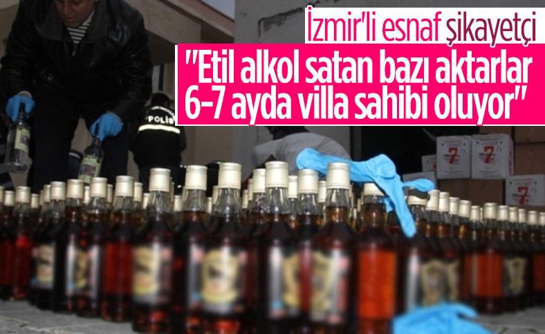 İzmirli esnaf: Etil alkol satan bazı aktarlar 6-7 ayda villa sahibi oluyor