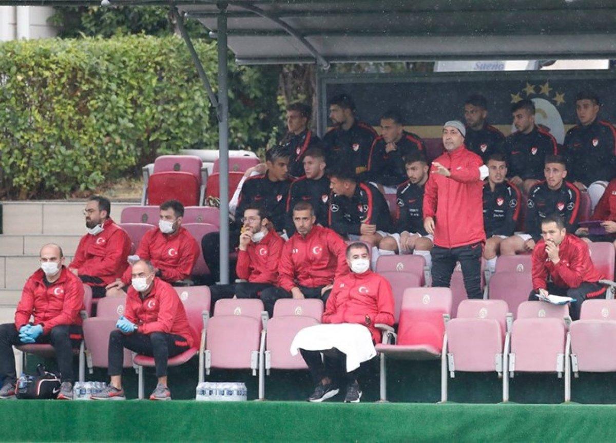 Marcao ümit milli futbolcu Halil Dervişoğlu na tokat attı #3