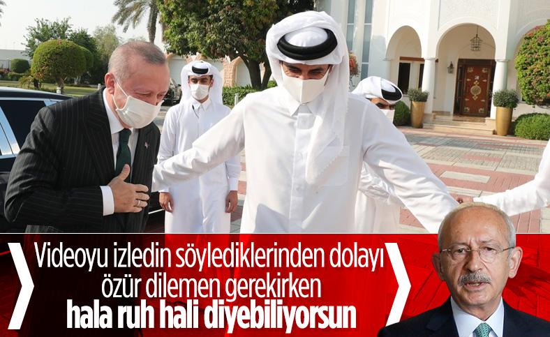 Kılıçdaroğlu'na  'Cumhurbaşkanı Erdoğan eğildi' iddiası soruldu