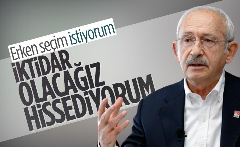 Kemal Kılıçdaroğlu'ndan erken seçim talebi