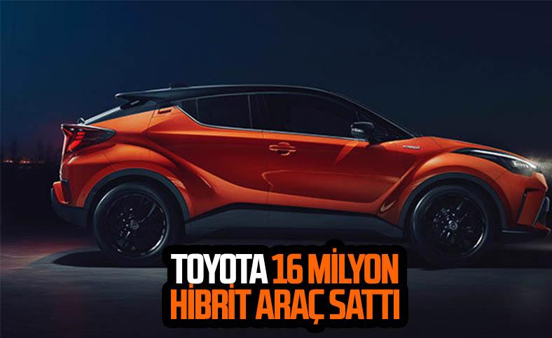 Toyota'nın hibrit araç satışları 16 milyonu aştı