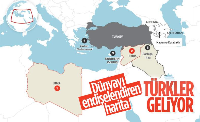 Foreign Policy'den Türk askeri varlığı haritası