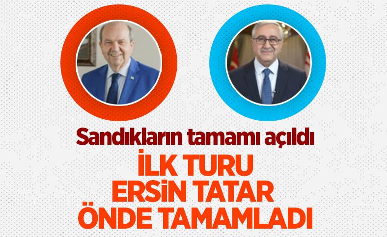 KKTC'de ilk turda seçimi Ersin Tatar önde tamamladı