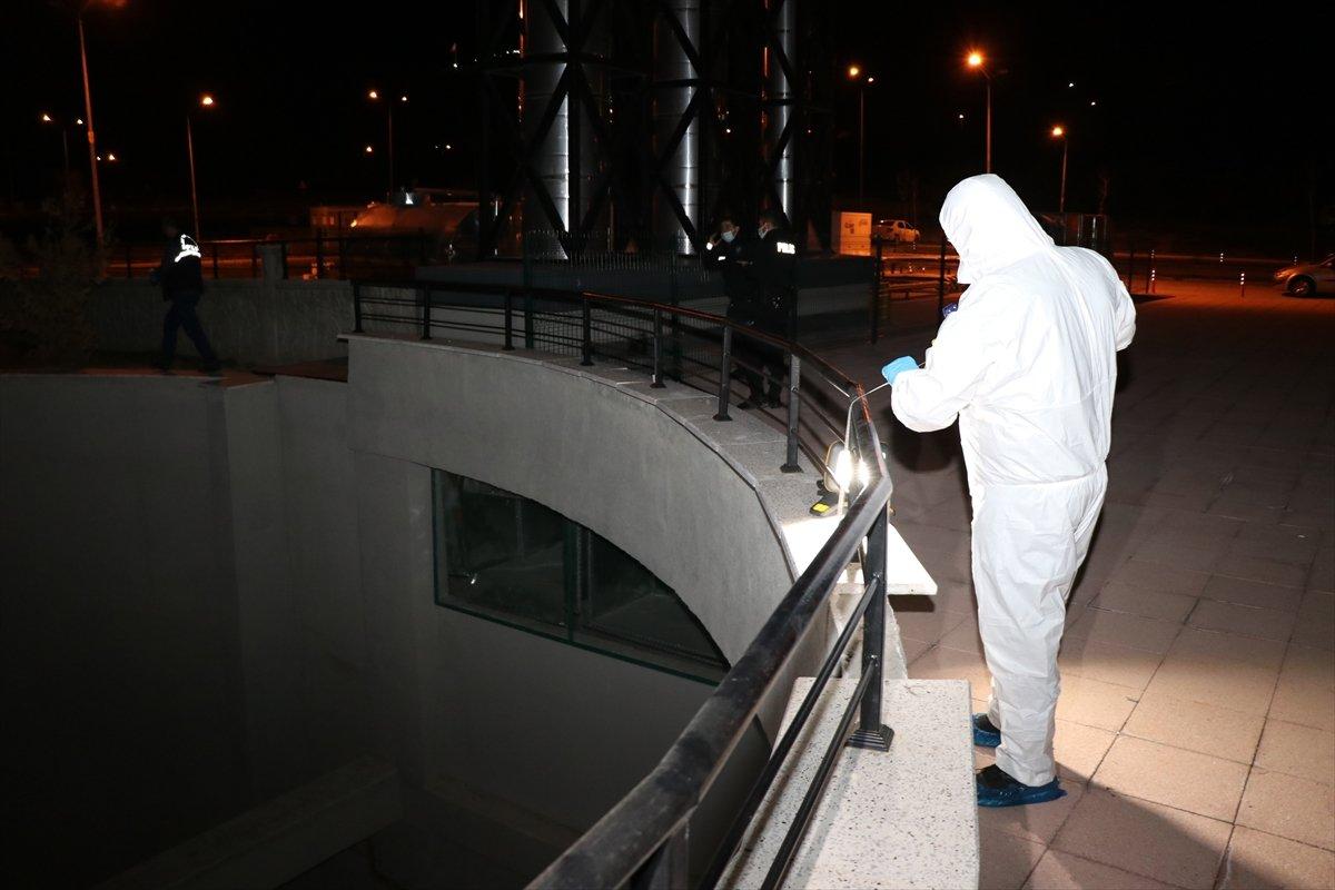 Erzincan da hastaneden kaçmak isteyen virüslü hasta balkondan düştü #4