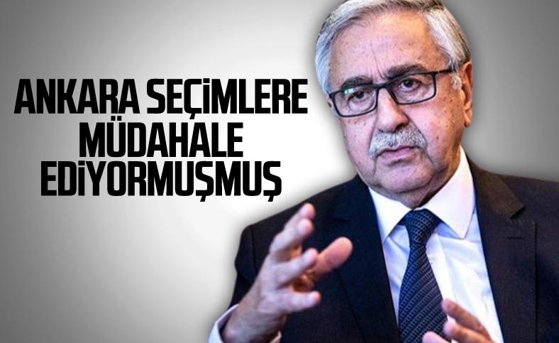Mustafa Akıncı: Seçimlere müdahale ediliyor