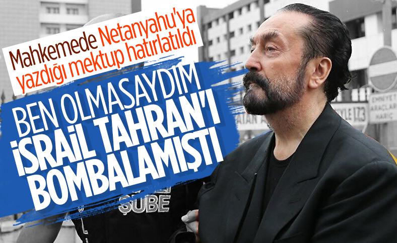 Adnan Oktar, mahkeme başkanının sorularını yanıtladı