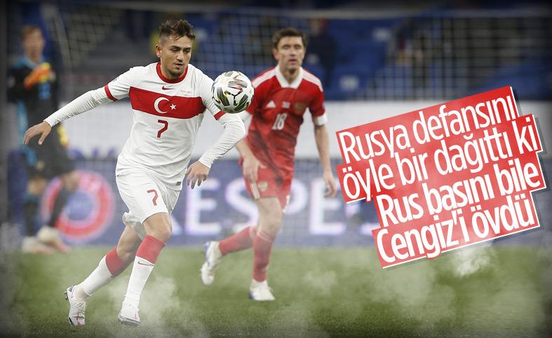 Rus basınından Cengiz Ünder'e övgü