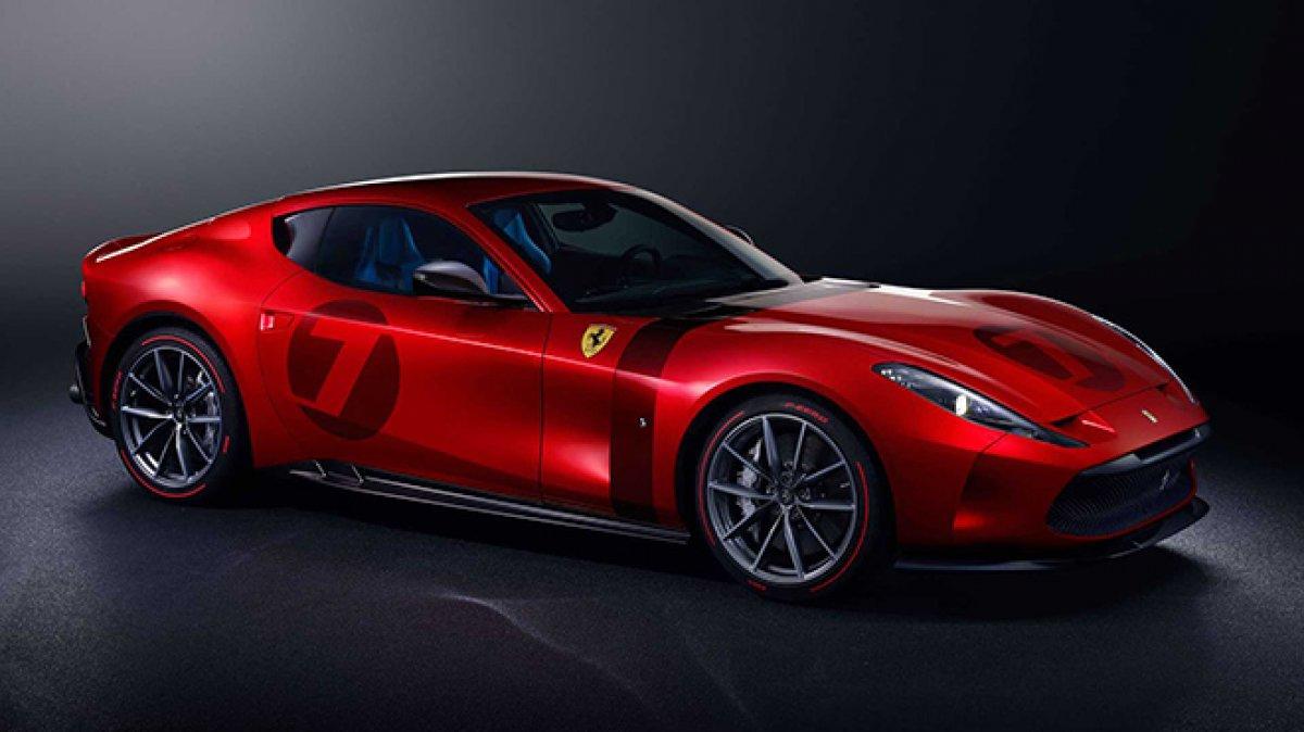 Ferrari sadece 1 # 1 ürettiği Omologata'yı tanıttı