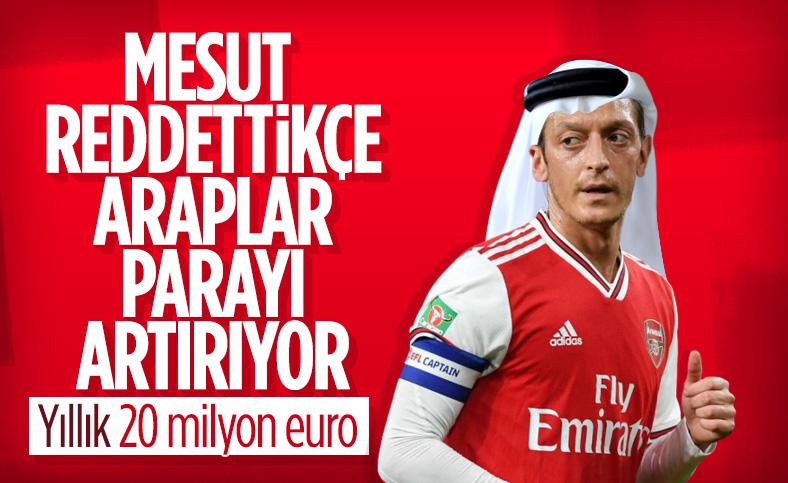 Al Nassr'dan Mesut Özil'e 20 milyon euro