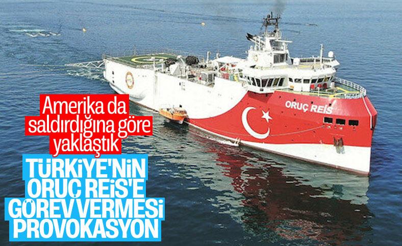 ABD, Türkiye'nin Oruç Reis kararı için 'provokasyon' dedi