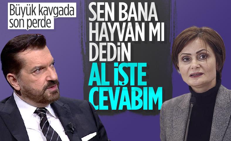 Hakan Bayrakçı ile Canan Kaftancıoğlu kavgaya devam ediyor