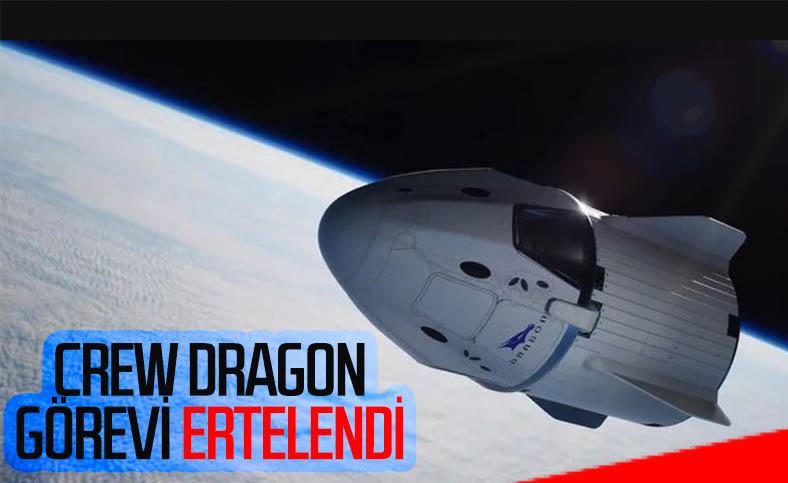 NASA, Crew Dragon kapsülünün Uluslararası Uzay İstasyonu'na uçuşunu erteledi