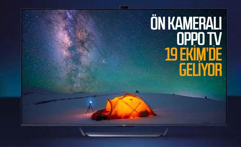 Oppo, ilk akıllı televizyon modelini 19 Ekim'de tanıtacak