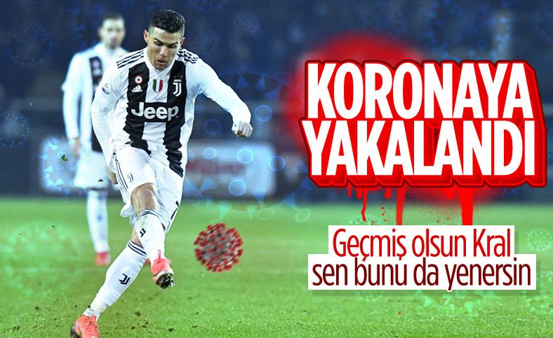Cristiano Ronaldo'nun koronavirüs testi pozitif çıktı