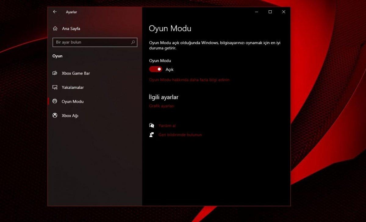 Windows 10 oyun modu nasıl açılır? #3
