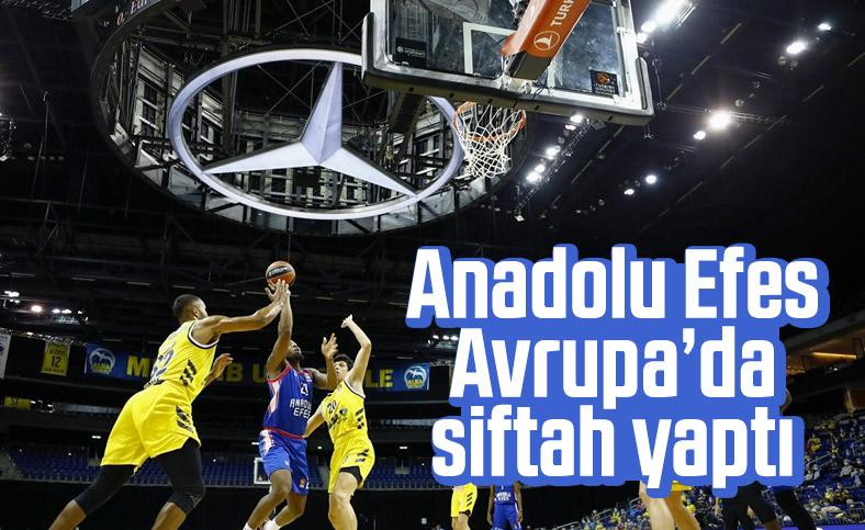 Anadolu Efes Avrupa Ligi'nde ilk galibiyetini aldı