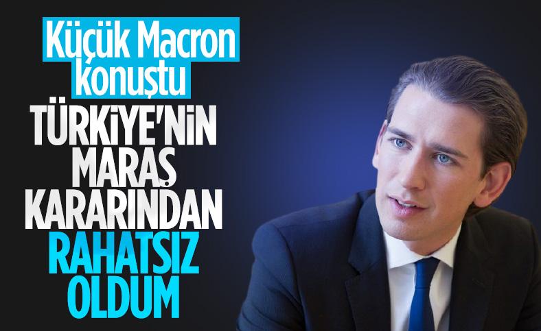 Avusturya Başbakanı Sebastian Kurz, Türkiye'yi tehdit etmeye kalktı