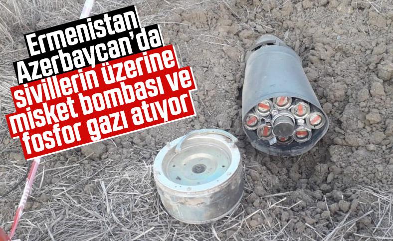 Ermenistan ordusu, misket bombası ve fosfor gazı kullandı