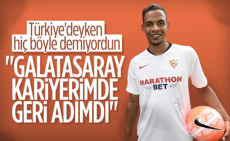 Fernando Reges: Galatasaray kariyerimde geri adımdı