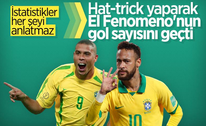 Neymar, Peru'ya 3 gol attı