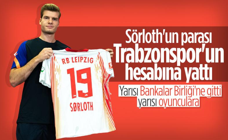 Alexander Sörloth'un parası Trabzonspor'a ulaştı
