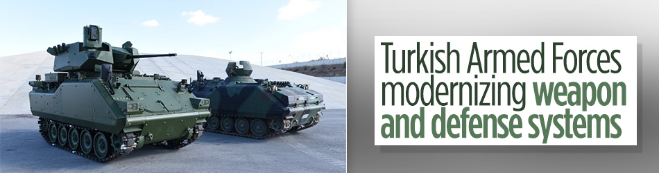 Turkish army modernizing defense systems