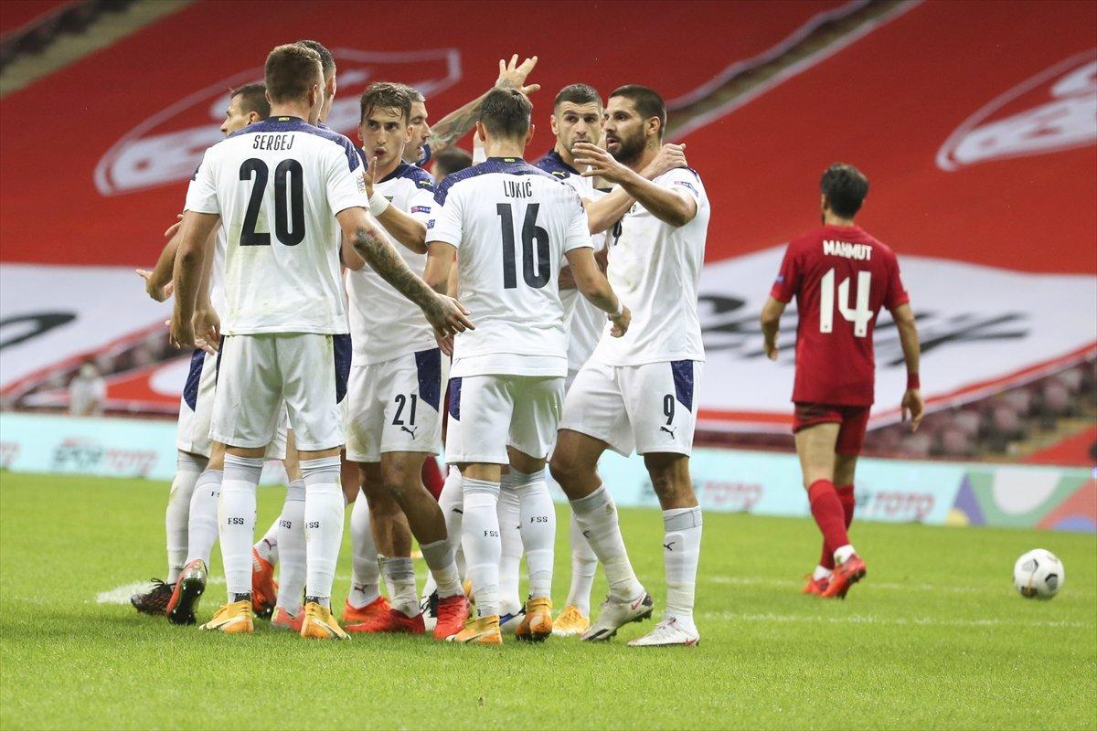 A Milli Takımımız, Sırbistan ile berabere kaldı #2