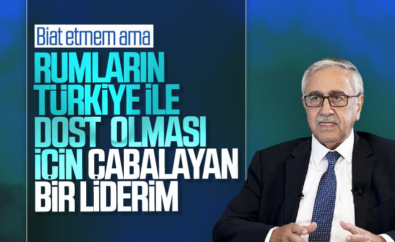 Mustafa Akıncı'dan 'Türkiye' açıklaması