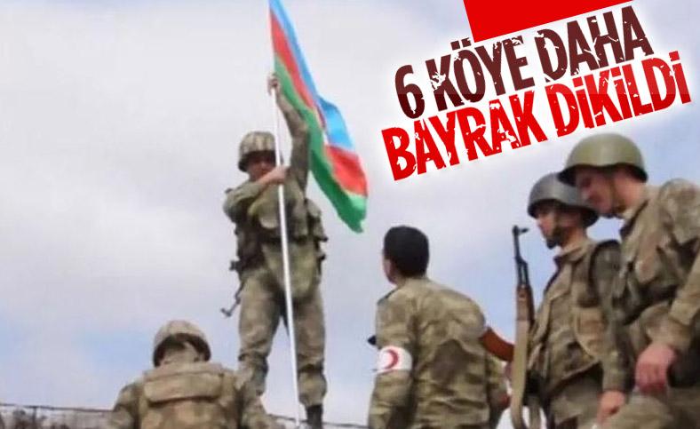 Azerbaycan, 6 köyü daha işgalden kurtardı