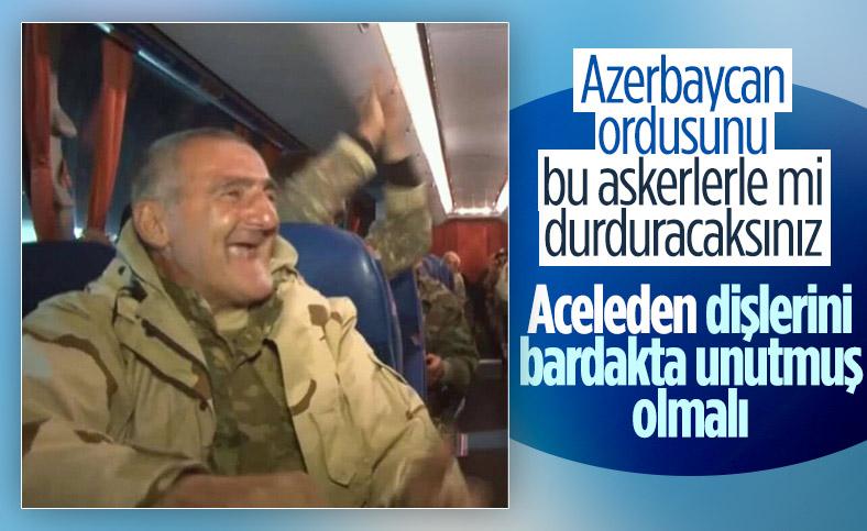 Ermenistan yaşlıları cepheye gönderiyor