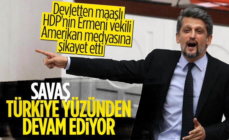 Garo Paylan, Azerbaycan'ı destekleyen Türkiye'yi ABD'ye şikayet etti