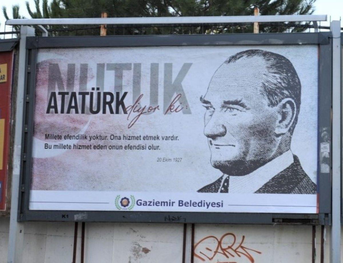 Gaziemir Belediyesi nutuk