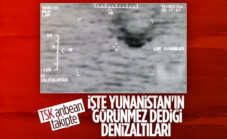 Yunan propagandasına TSK'dan 'görüntülü' yanıt