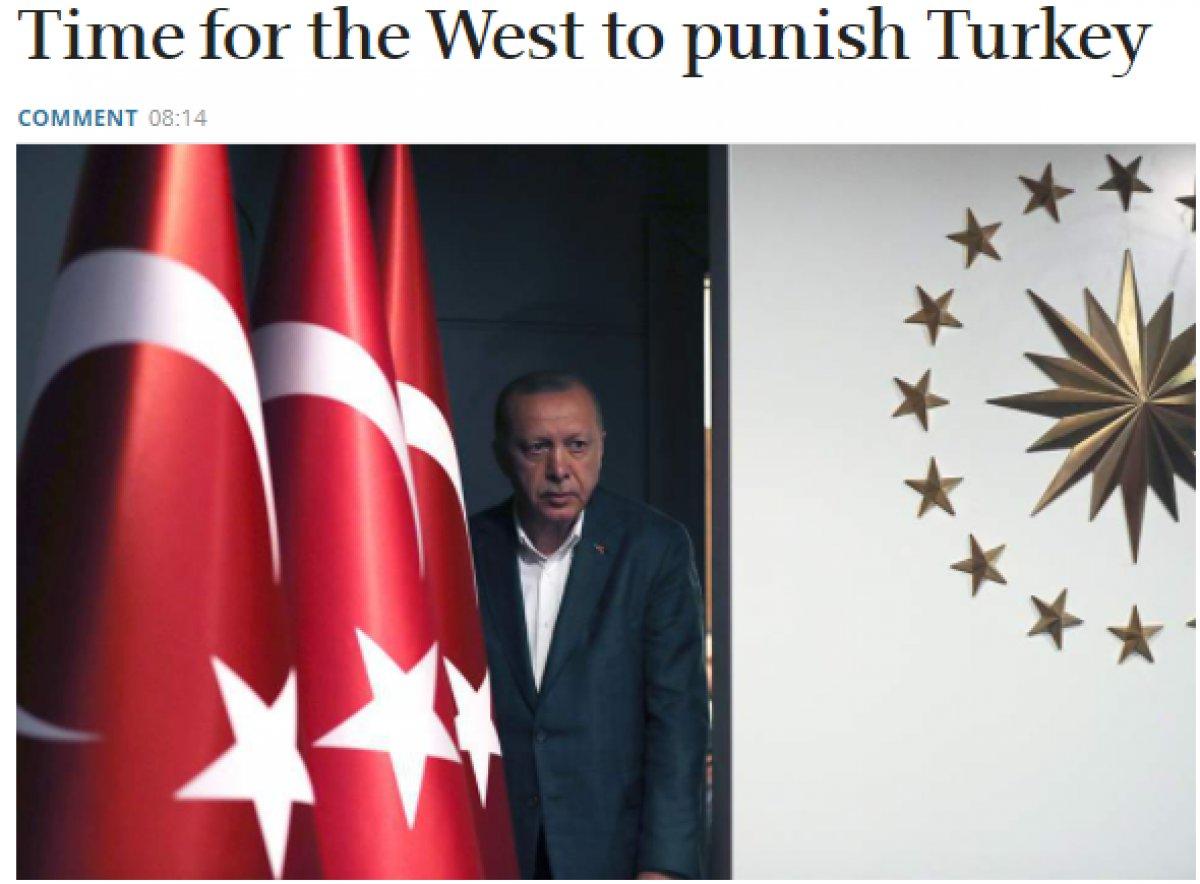 Yunan basını, Batı dan Türkiye ye yaptırım uygulamasını istedi #2