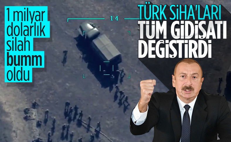 Aliyev: Savaşın gidişatını Türk SİHA'ları değiştirdi