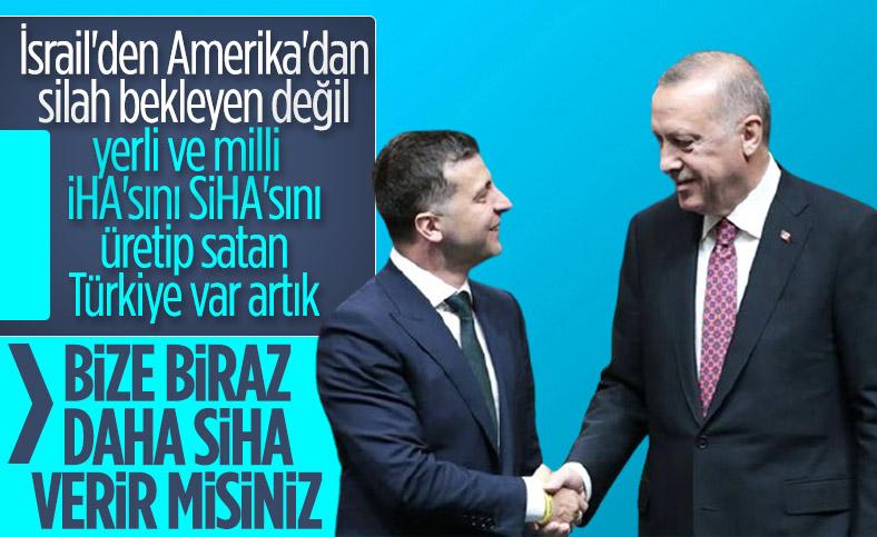 Ukrayna, Türkiye'den SİHA satın almak istiyor