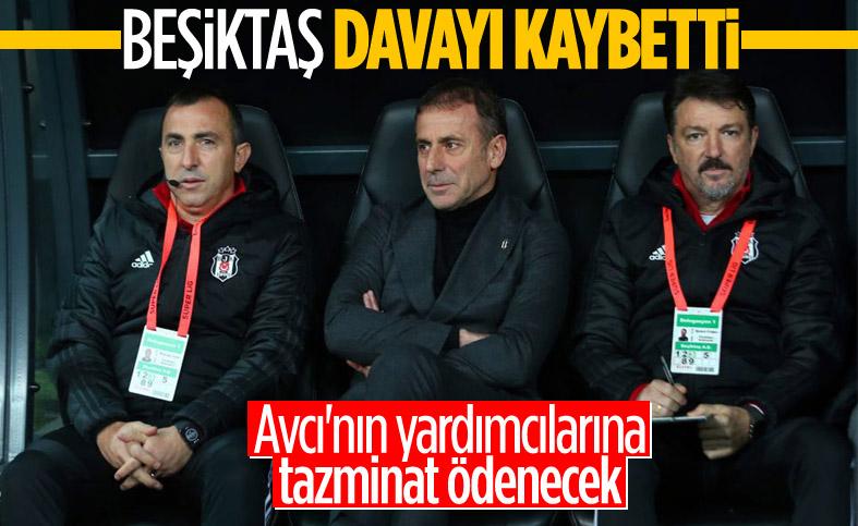 Beşiktaş, Abdullah Avcı'nın ekibine tazminat ödeyecek