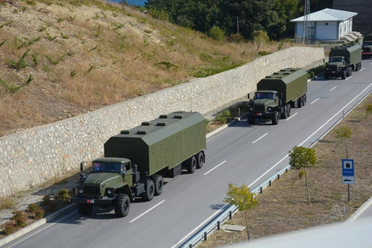Sinop'ta S-400 hava savunma sistemi füzesi ilk kez ateşlendi #1