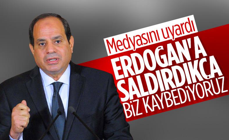 Sisi'den Mısır medyasına 'Türkiye ve Erdoğan'a saldırmayın' tavsiyesi