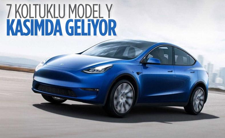 Tesla, 7 koltuklu Model Y'nin üretimine kasımda başlıyor