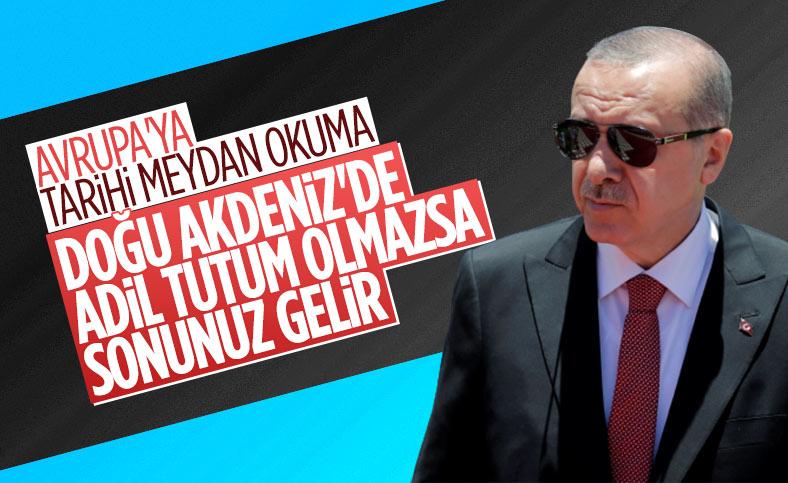 Cumhurbaşkanı Erdoğan'dan Avrupa Birliği'nde Doğu Akdeniz uyarısı