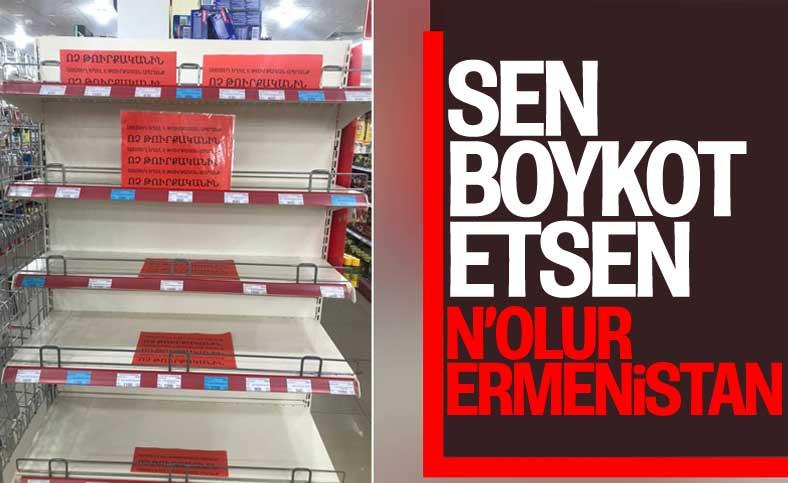Ermenistan'da Türk malları, market raflarından kaldırıldı