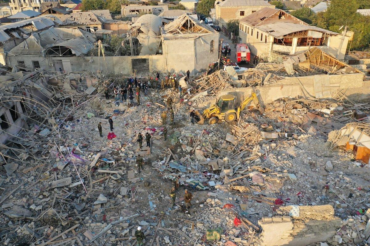 Gence de füze saldırısının ardından ortaya çıkan görüntüler #2
