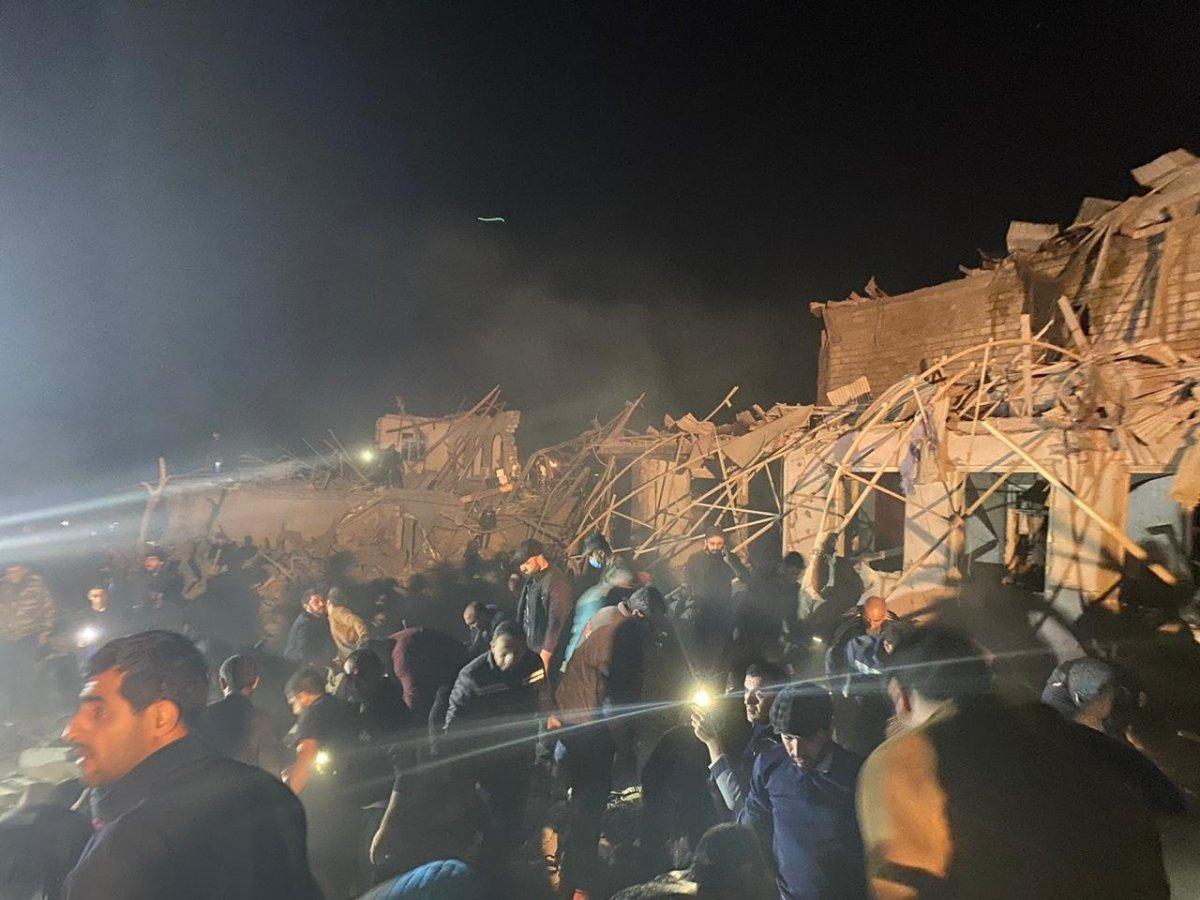 Ermenistan, Gence de yine sivilleri hedef aldı #1