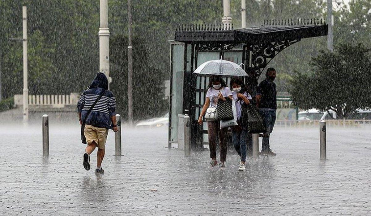 Marmara ve Ege için dolu, sağanak ve fırtına uyarısı #1