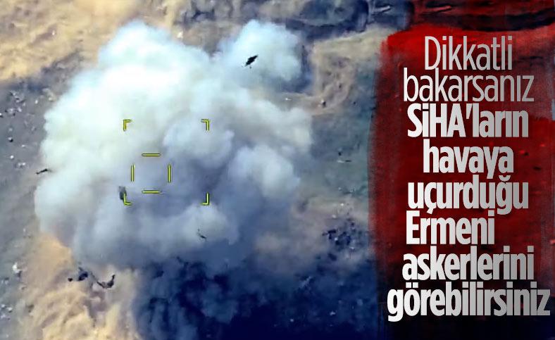 Azerbaycan SİHA'ları Ermeni hedeflerini vurdu