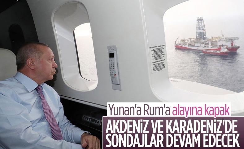 Cumhurbaşkanı Erdoğan: Karadeniz ve Akdeniz'de hidrokarbon aramaları sürecek