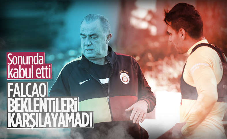 Fatih Terim'den Radamel Falcao itirafı