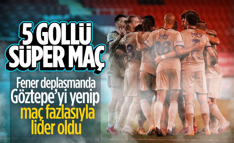 Fenerbahçe, Göztepe deplasmanında 3 puanı aldı